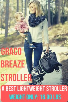 The Graco breaze click connect stroller is one of the easiest folding umbrella stroller and 5th best lightweight stroller in our top 10 reviews. Its lightweight sturdy frame making it ultra-convenient for moms on the go. Its extra-large canopy with UV 50 protection and adjustable calf support keeps your little one comfortable all the way of riding. #bestlightweightsroller #bestbabystroller #babystroller #stroller Best Lightweight Stroller, Best Baby Strollers, Umbrella Stroller, Folding Umbrella, Travel System, Canopy, Connect, Infant, Babies