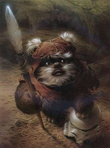 I loved the Ewoks, now I can't even remember their names...