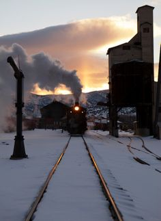 Nevada Northern, Ely, Nevada. Photo by Matthew Malkiewicz - Lost Tracks of Time
