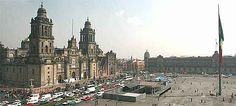 Mexico City's Zocalo is the second biggest public square in the world (after Red Square) and is equally impressive for adults or kids. Visit the Cathedral and see the efforts made to prevent its slow sinking into this old lake bed, look for the wall of skulls at the Aztec ruins of Templo Mayor, and see the amazing murals at the National Palace.