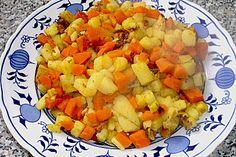 Karotten - Kartoffel - Pfanne