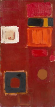 Patrick Heron | Tall Brown | 1959