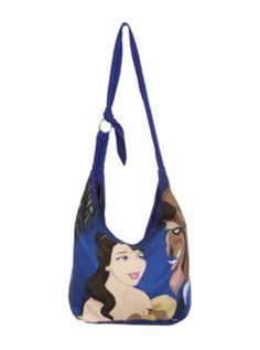 Disney Beauty And The Beast Hobo Bag
