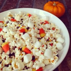 Glamour Girl Gourmet: Popcorn Party Mix