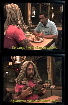 Best scene from 50 first dates 50 first dates quotes, dating quotes, tv quotes Funny Dating Quotes, Dating Humor, Tv Quotes, Movie Quotes, 50 First Dates Quotes, Ariana Grande, Adam Sandler Movies, Flirting Memes, Great Movies