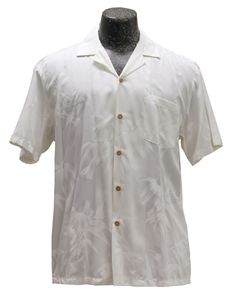 Get the perfect attire for your beautiful beach wedding with the men's white tropical wedding shirt in Bamboo Garden print from Aloha FunWear. Beach Wedding Groom, Church Wedding Ceremony, Wedding Attire, Yard Wedding, Wedding Programs, White Hawaiian Shirt, White Hibiscus, Wedding Shirts, Beach Attire
