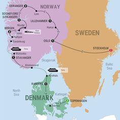 Scenic Scandinavia and its Fjords - 2015 - USA - Trafalgar Tours