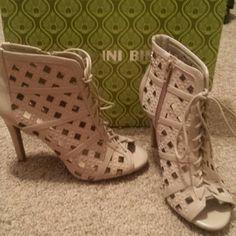 Gianni bini high heels Brand new Gianni bini high heels brand new never worn beautiful shoes box not included Gianni Bini Shoes Ankle Boots & Booties
