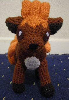 Fire-type Pokémon are my favourites, and Vulpix is one of the cutest so I had to make this pattern.
