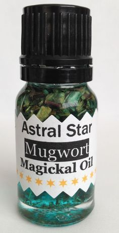 MUGWORT #astralprojection #MAGICK  OIL - #Psychic Work/Clairvoyance - 10ml - Same Day Despatch