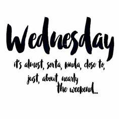 Almost there, kinda #happywednesday #humpday #shekeepsmebalanced