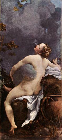 Correggio / Jupiter and Io / early 1530s / comm. by Federigo Gonzaga for pleasure chamber in Palazzo Ducale, Mantua / oil on canvas / Kunsthistorisches Museum, Vienna