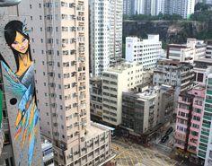 Street Art By Shida, Twoone - Hong Kong (Hong Kong)