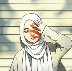 Oh no no no je ne veux pas bronzer Cute Cartoon Girl, Cartoon Art, Cartoon Images, Cartoon Wallpaper, Wallpaper Backgrounds, Wallpapers, Tmblr Girl, Hijab Drawing, Islamic Cartoon