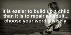 Build up a Child.....