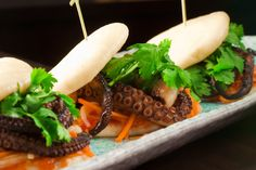Ben Pollinger's Spicy Octopus Steamed Buns