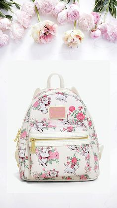 9751c6c0a806 Loungefly Disney The Aristocats Marie Floral Mini Backpack