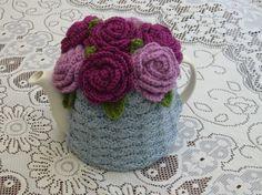 46 Cup Crochet Tea Cosy/ Tea Cozy/ Cosy/ by andrealesleycrochet