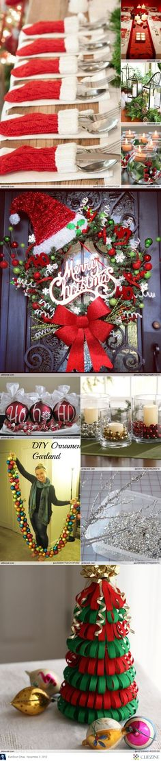 #Christmas Decorations lots of ideas