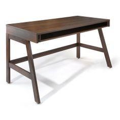 maple trundle desk