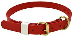 JandJ Dog Supplies 1' Wide and Adjustable from 14 to 24 ' Red Boithane Dog Collar >>> Click image for more details. (This is an affiliate link) #Pets