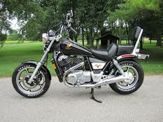 1986 Honda VT1100C...my third bike....loads of fun and torque....hold on tight when ya twist the grip!!!