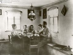 A Peasant Family at Lunch (1912), Germany