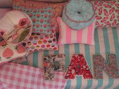 Different types of pillows and cushions