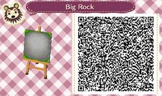 """blackmage98: """" This is my single square rock pattern, with a recolor to blend in with night time. My grass is circle grass so I'm not sure if it will look right on other types of grass. """""""