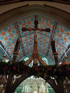 Our Lady & St Wilfrid  Architect: Augustus Welby Pugin 1840 Small, 'archaeologically correct' (Pevsner) neo-Gothic RC church