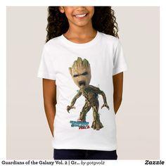 Guardians of the Galaxy Vol. 2 | Groot Yell Kids T-Shirt