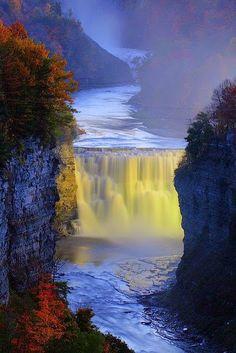 Genesee River , USA - Travel Pedia