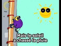 L'araignée Gypsie  - karaoke - Clipounet  Itsy Bitsy Spider in french