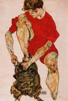 Egon Schiele I 1914