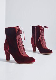 a2c56025f8c Fairytale Flair Velvet Boot in 39