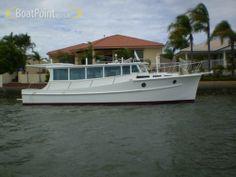 34' Fred Fleming 1 Boat Design, Wooden Boats, Rivers, Irish, Ships, Usa, Building, Houseboats, Wood Boats