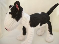 Bullterrier by vizhanyonekriszta on Etsy