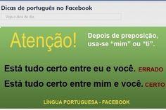 Facebook dá dicas para evitar erros de português comuns - Educação - Notícias - UOL Educação