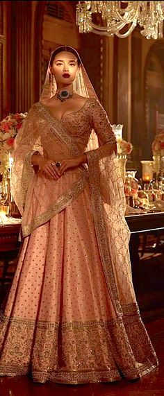 21 Best ideas for sabyasachi bridal lehenga brides red indian couture Indian Wedding Outfits, Bridal Outfits, Indian Outfits, Bridal Dresses, Indian Bridal Wear, Indian Wear, Sabyasachi Lehenga Bridal, Indian Lehenga, Sabhyasachi Lehenga