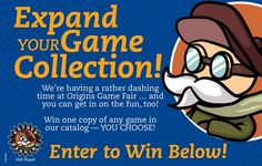 Enter by June 19, 2017 to Win any game of your choice from the Rather Dashing Games catalog!