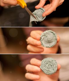 How To: Make Fabric Flowers