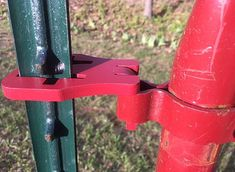 Easily hang a gate from a T-post in 3 minutes. Our patent pending Hinge Pin system is super strong and will not allow the gate to be lifted off. T Post Fence, Diy Fence, Fence Gate, Fence Ideas, Gate Ideas, Electric Fence Posts, Metal Fence Posts, Gate Hinges, Gate Latch