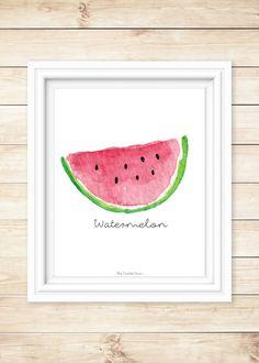 Watermelon Free Printable - The Triplet Farm