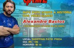 """Shopping Pátio Pinda - """"Arena Pinda Game"""" acontece neste fim de semana e traz atrações para fãs de jogos eletrônicos - Infotau Vale"""