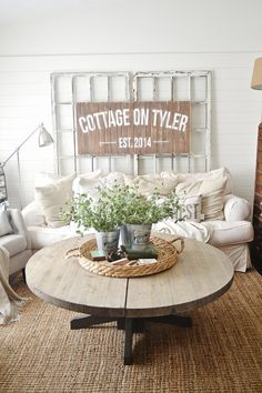Neutral cozy cottage