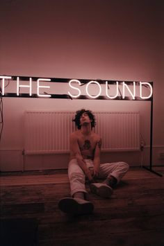 """Matty Healy  I know this isn't """"Type"""" but it would be a cool way to incorporate type into an image"""