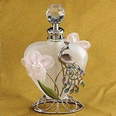 allthingspeacock.com - Peacock Perfume Bottles