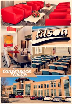 We love the modern feel and easy access that Tilson Conference Center offers our users. Allows you to bring in your own catering too.  Great for corporate events in the #Indianapolis area.