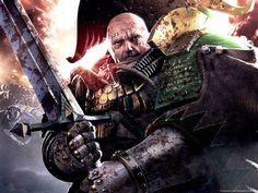 Battle-Captain Nathaniel Garro wields his ancient Power Sword Libertas