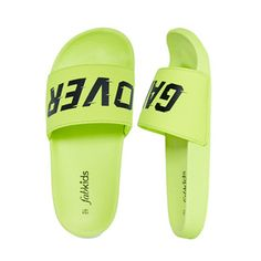 39a8f115dfd2 FabKids Shoes Game Over Slide Boys Yellow Size 13 Fashion Line